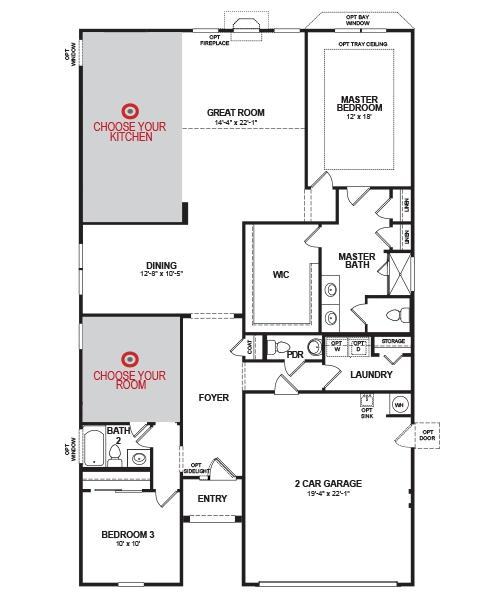 Savannah Home Plan in Cameron Village, Myrtle Beach, SC | Beazer ...